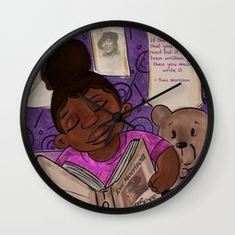 The Introduction to Toni Wall Clock