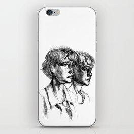 Carey iPhone Skin