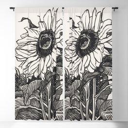 Sunflower (1919) by Julie de Graag (1877-1924) Blackout Curtain