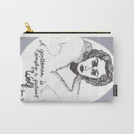 """Lana Turner; """"A gentleman is simply a patient wolf"""" Carry-All Pouch"""
