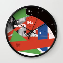 Deconstruction no. 1 Wall Clock