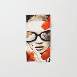 poppy pop (kate Moss) Hand & Bath Towel