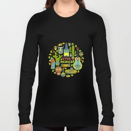 Viva Mexico Long Sleeve T-shirt