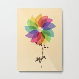The windmill in my mind Metal Print