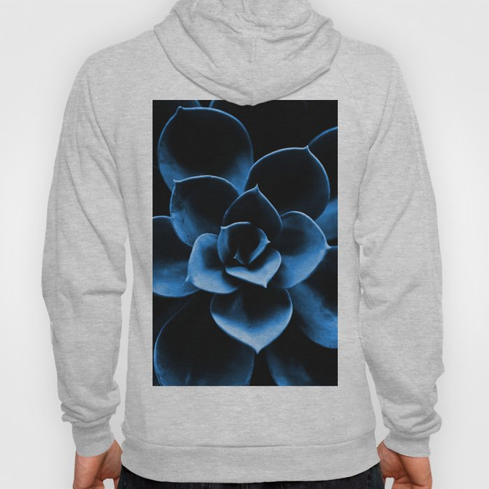 Dark Blue Succulent Plant #decor #society6 #homedecor Hoody