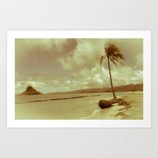I See Paradise Art Print