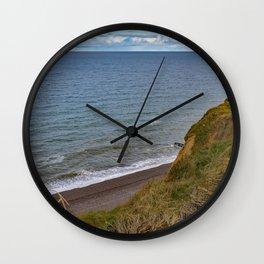 Sheringham cliff tops Wall Clock