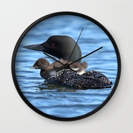 Baby Loon Pram Wall Clock