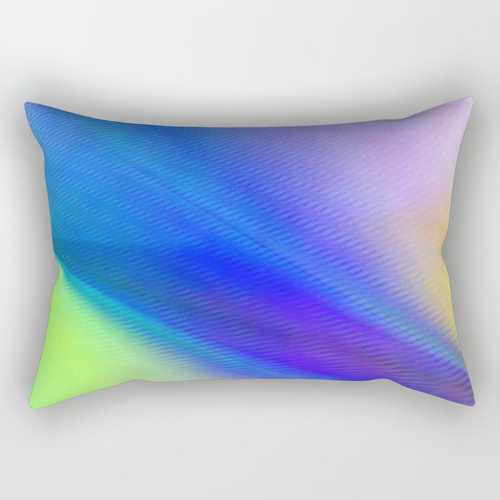 Multicolored abstract 2016 / 004  Rectangular Pillow