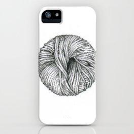 Ball of yarn iPhone Case