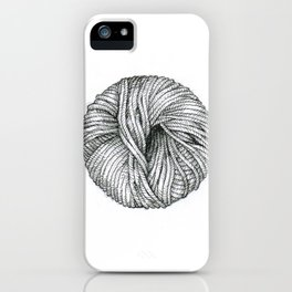 Ball of yarn iPhone Case