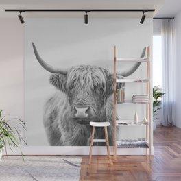Highland Bull Wall Mural