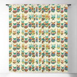 Give a hoot Blackout Curtain