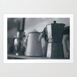 Coffee - a history Art Print