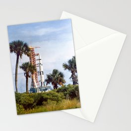 Apollo 8 - Tropical Launch Pad Florida Stationery Cards