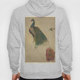 Peacock Sketch Hoody