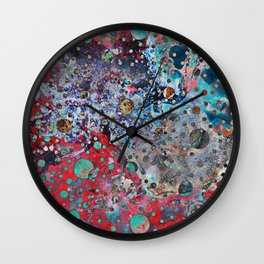 The Colours Of My Mind #digital  Wall Clock