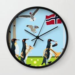 17th of may Wall Clock