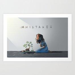 Mistakes Art Print