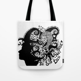 Stormy Silence Tote Bag