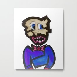 Shatter Face. Shatter Face? Shatter Face! Metal Print
