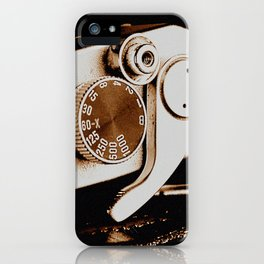Old School Photography iPhone Case