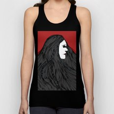 March of The Black Queen Unisex Tank Top