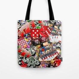 Gamblers Delight - Las Vegas Icons Tote Bag