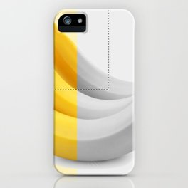 Banana layer iPhone Case