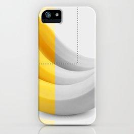 Banana layer iPhone Case