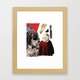 Red child Framed Art Print