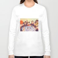 haikyuu Long Sleeve T-shirts featuring Post Practice Lunch by AndytheLemon