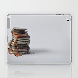 Melting Coins Laptop & iPad Skin