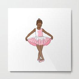 Little Ballerina Metal Print