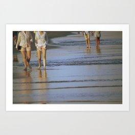 2's at the Beach Art Print