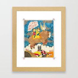 To The Stars! Framed Art Print