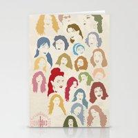 arab Stationery Cards featuring Arab Divas by QatatoPRINTS