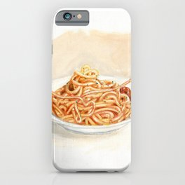 Pasta love iPhone Case