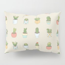 Cute Succulents Pillow Sham