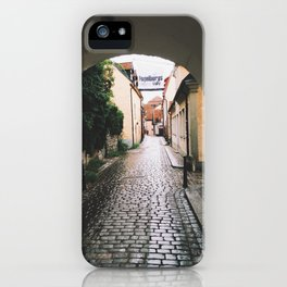 Visby Street iPhone Case