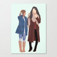 korrasami Canvas Prints featuring korrasami by Ana Rocha