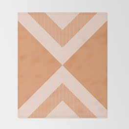 X Honey & Blush Throw Blanket