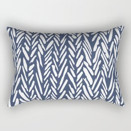 Winter snowstorm Rectangular Pillow