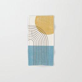 Sunny ocean Hand & Bath Towel