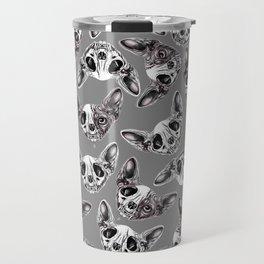 Shynx Half Skull Pattern Travel Mug