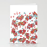 triangles Stationery Cards featuring triangles by Matthew Taylor Wilson