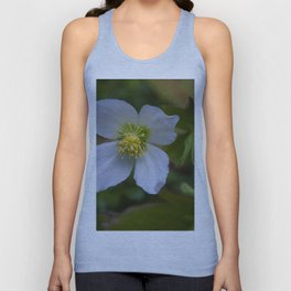 Floral Print 096 Unisex Tank Top