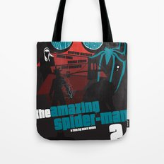 Amazing Spider-man 2 Poster Tote Bag