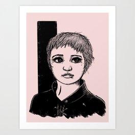 Tomboy Art Print