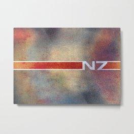 Mass Effect's N7 Metal Print